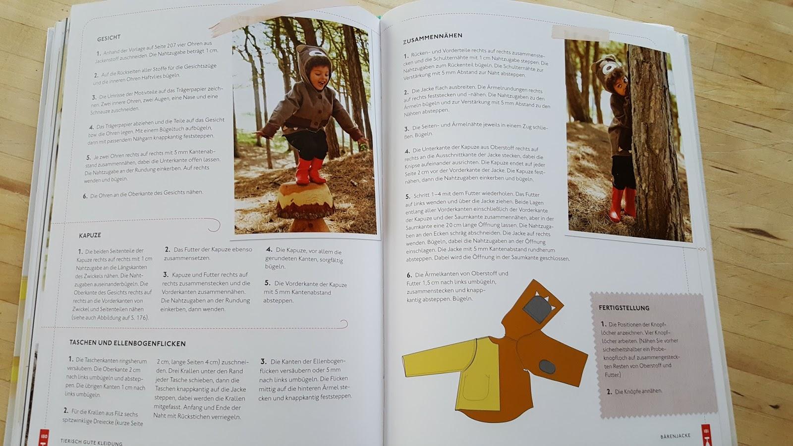 Eine Hose für das Füchslein & ein neues Lieblings-Nähbuch ...