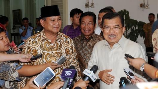 JK Ungkap Pertemuan dengan Prabowo: Dia Telepon Orang Minta Hentikan Aksi Massa