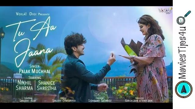Tu Aa Jaana Mumbaiker Nikhil Palak Muchhal Song Lyrics in Hindi Hinglish