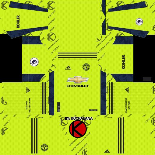 Manchester United 2020 21 Kit Dls2019 Kuchalana