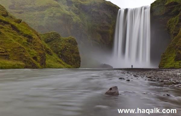 شلال Seljalandsfoss  l اجمل الشلالات في العالم f1b06d20-3e69-4e20-8