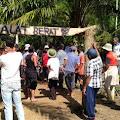 Hari Bhayangkara ke 74, Protes Masyarakat Alue Dua Protes Pembangunan Irigasi Alue Geureutut Bireun