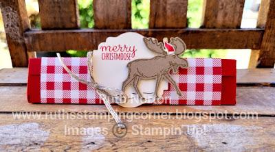 stampin up, merry moose