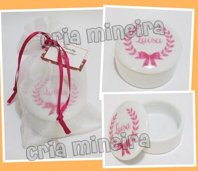 Porta Joia Personalizado Porcelana