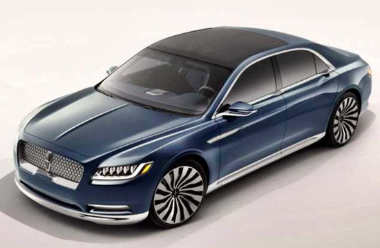 2017 Lincoln Continental Price Specs Redesign And