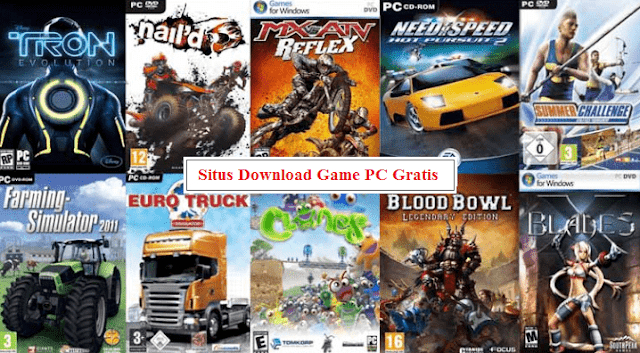 Kumpulan Situs Download Game PC Gratis Full Version Lengkap