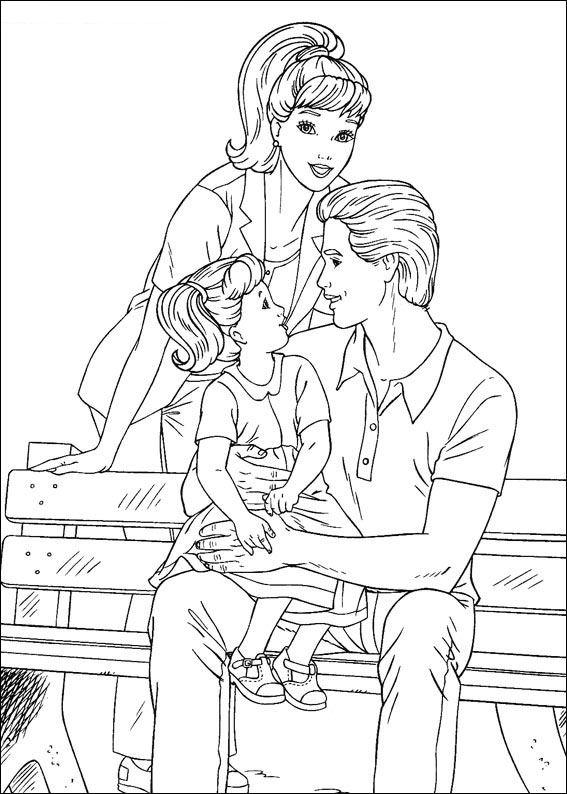 ken barbie coloring pages | Cartoons Coloring Pages: Barbie and Ken Coloring Pages