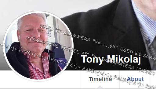 ScamHaters United Ltd: TONY MIKOLAJ    all PROFILES ARE FAKE AND ALL