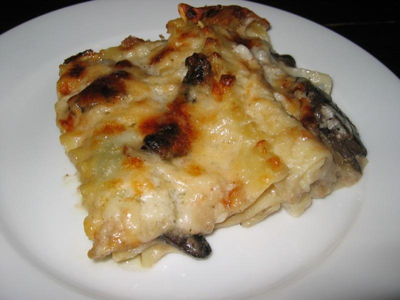 Mushroom Lasagna on Closet Cooking