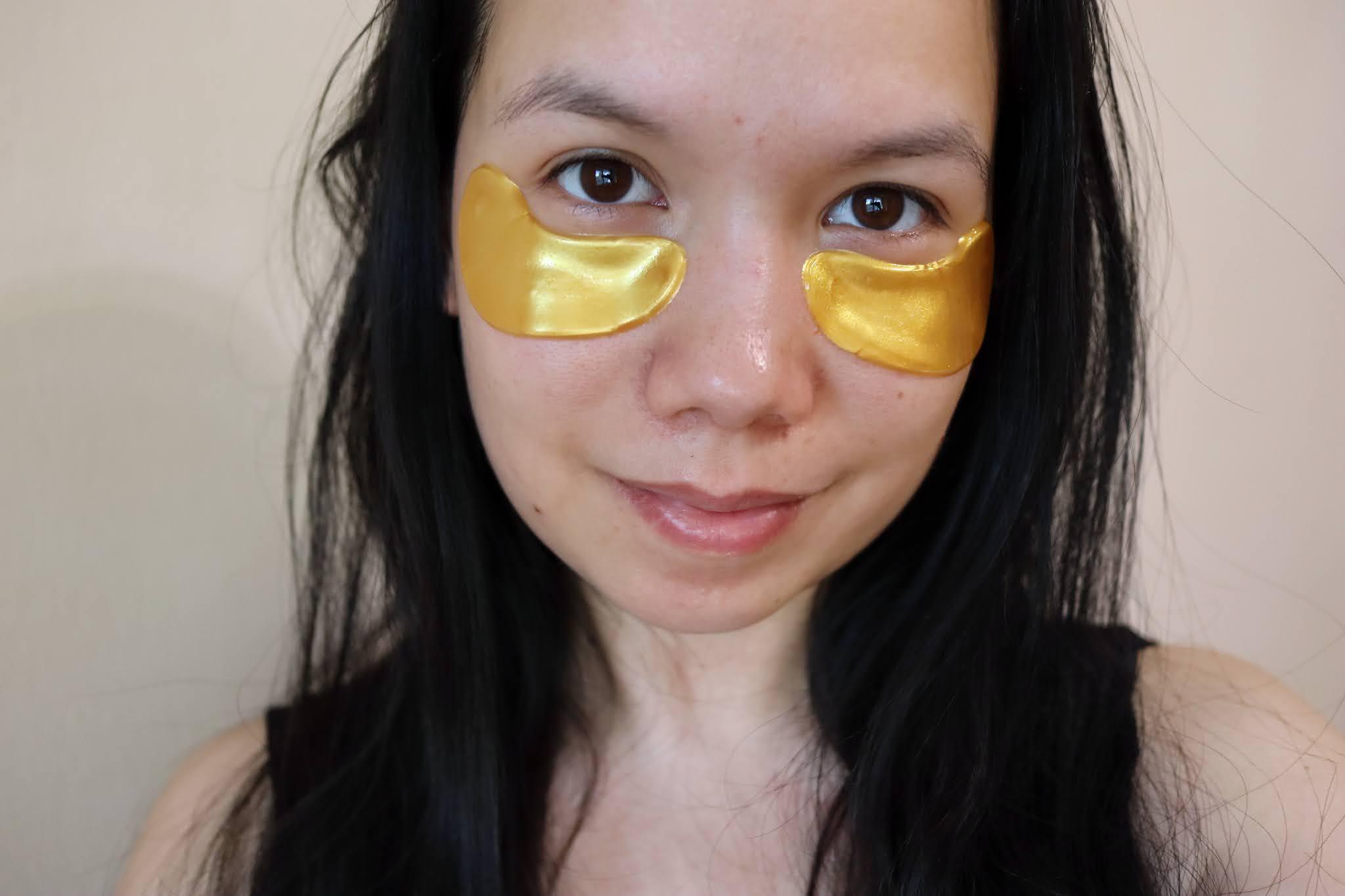 Gabriella Salvete gold eye collagen mask