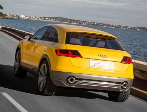 2018 Audi TTQ Offroad Powertrain