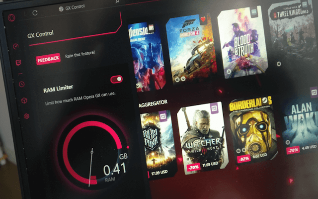 Opera GX أوّل متصفّح متخصص للألعاب في العالم