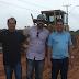Deputado Marcus Cavalcante vistoria obras de acesso ao aeroporto em Feijó