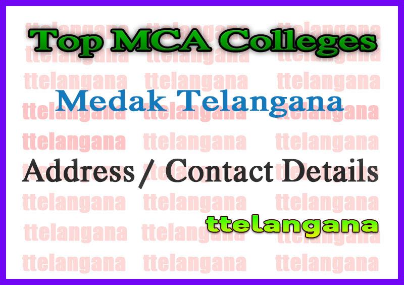 Top MCA Colleges in Medak Telangana