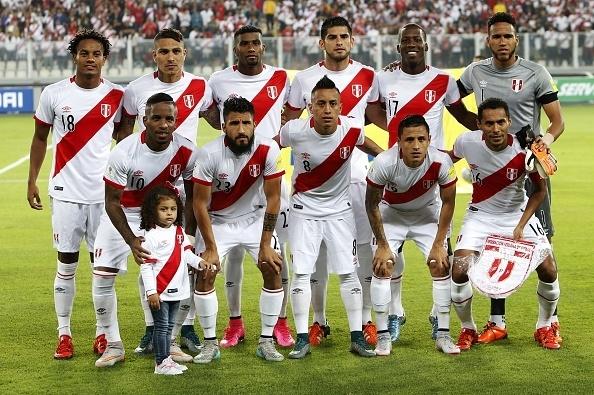 Formación de Perú ante Chile, Clasificatorias Rusia 2018, 13 de octubre de 2015