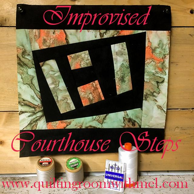 improvised courthouse quilt block