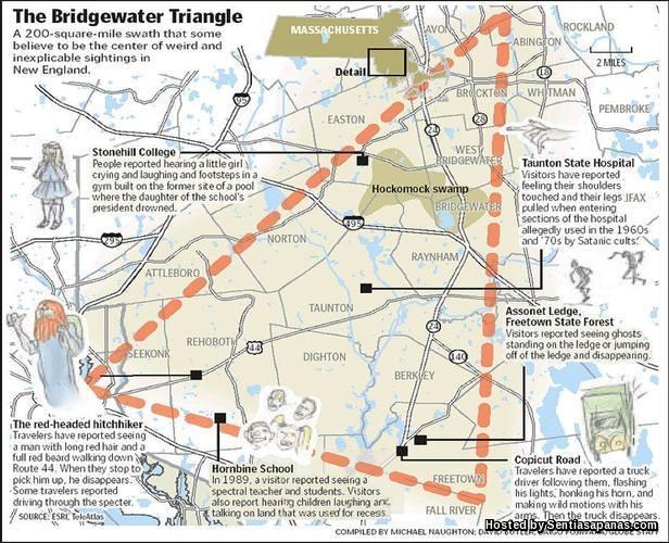 Bennington Triangle Mystery [3]