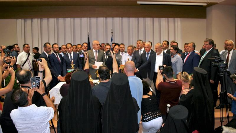 Ορκίστηκαν ο Περιφερειάρχης και τα μέλη του νέου Περιφερειακού Συμβουλίου Αν. Μακεδονίας - Θράκης