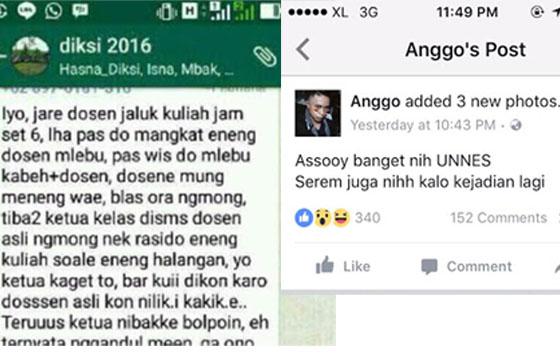 Cerita 'Dosen Ghaib' Dikampus UNNES Hebohkan Netizen