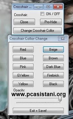 Wolfteam TR 08.07.2014 Crosshair Hack - Nişangah Hilesi - 10 Farklı Renk 8 Temmuz 2014 Hile