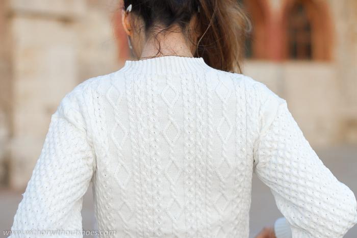 Prendas 3D sin costuras Shima Seiki: Un jersey blanco precioso