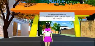 ID Kampung Gria Dukuh Asri Di Sakura School Simulator