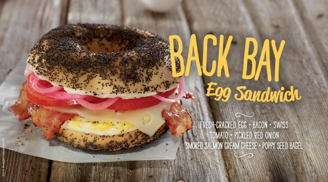 Bruegger S Features Salmon Cream Cheese Breakfast Sandwich For 2015
