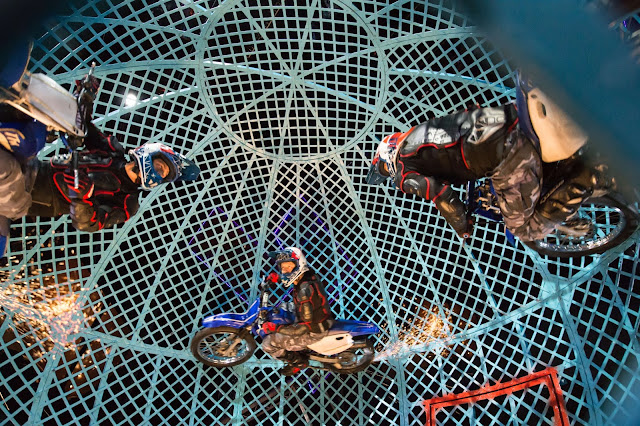Cirque Berserk! at Nuffield Theatre, Southampton