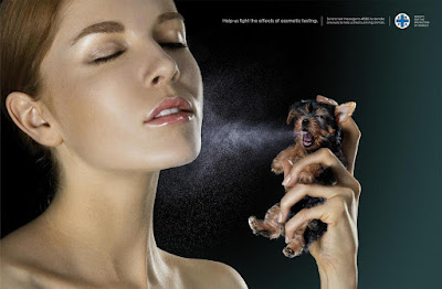 15 Thought Provoking Animal Advertisements That'll Make You Think.