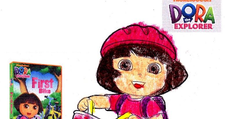 Land of Little Princesses Dora the Explorer First Bike