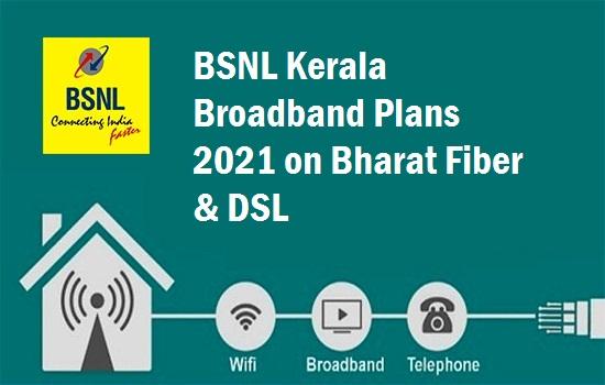 BSNL Kerala Broadband Plans
