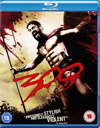 300 (2006) Dual Audio Hindi 480p BRRip – 350mb