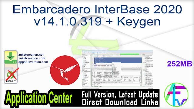 Embarcadero InterBase 2020 v14.1.0.319 + Keygen