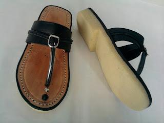 sandal tarumpah