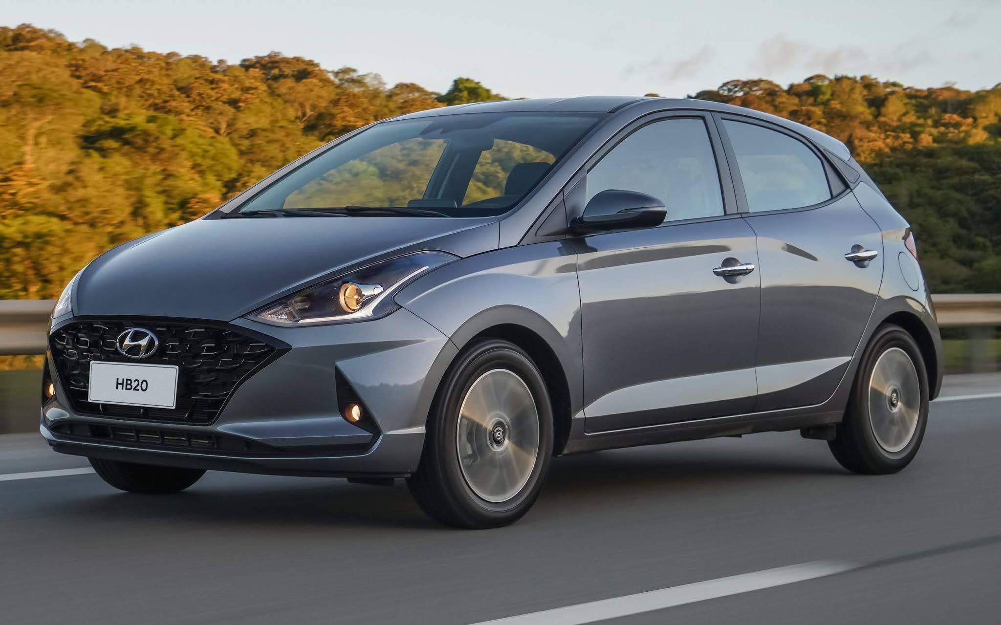 Hyundai HB20 - carro mais vendido do Brasil