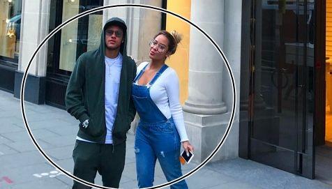Neymar Causes Stir In London