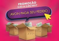 Promoção Avon Paga seu Pedido avonpagaseupedido.com.br