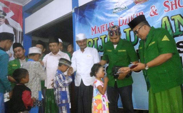 Patut Diteladani, GP Ansor Probolinggo Santuni Ratusan Yatim