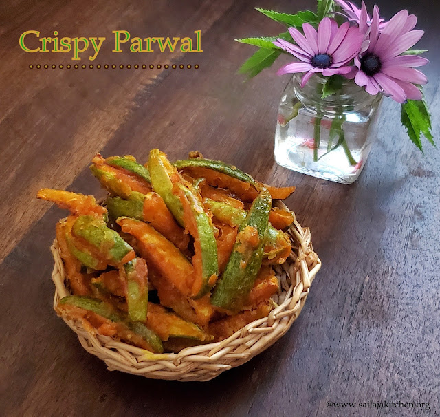 images of Crispy Parwal / Crispy Potal / Crunchy Parwal / Deep Fried Parwal