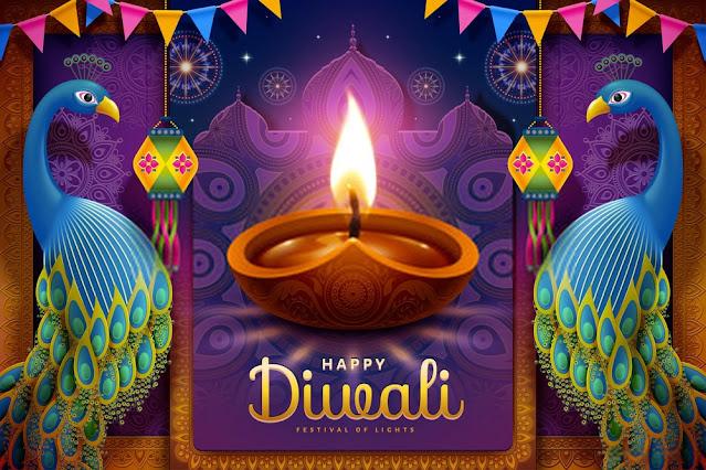 Happy Diwali Wishes Wallpaper 2020