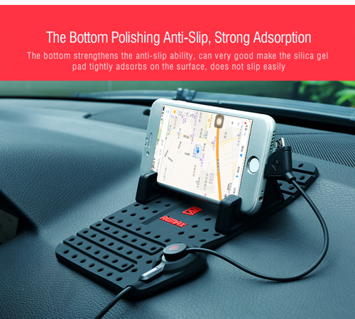Car Phone Holder Remax - with Magnetic USB Data Cable