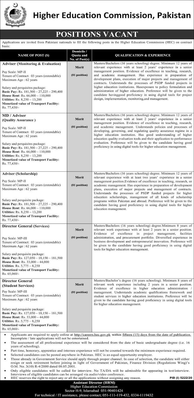 hec-jobs-2021-contract-based-jobs
