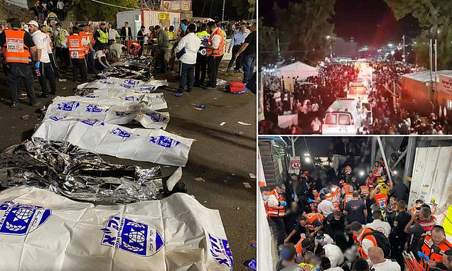 Festival Api Unggun Yahudi Israel Berujung Tragedi, Puluhan Orang Tewas Terinjak-injak