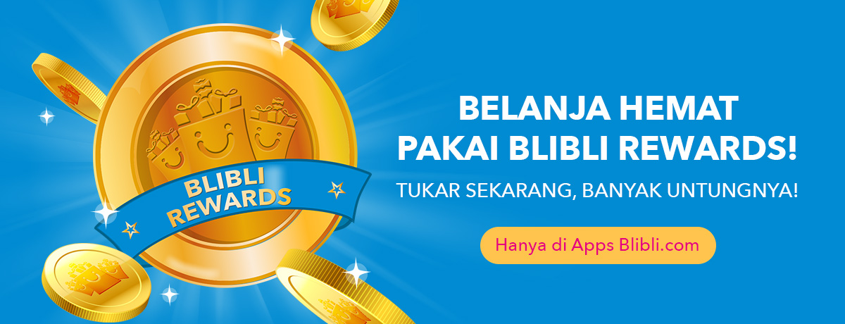 Blibli - Promo Belanja Hemat Pakai Blibli Rewards (APPS ONLY)