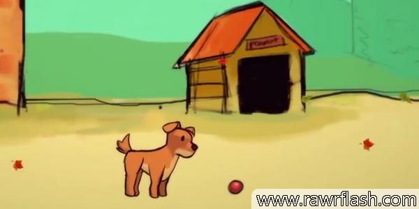 Jogos de simulação: A triste história de um cachorrinho. Simulador de cachorro.