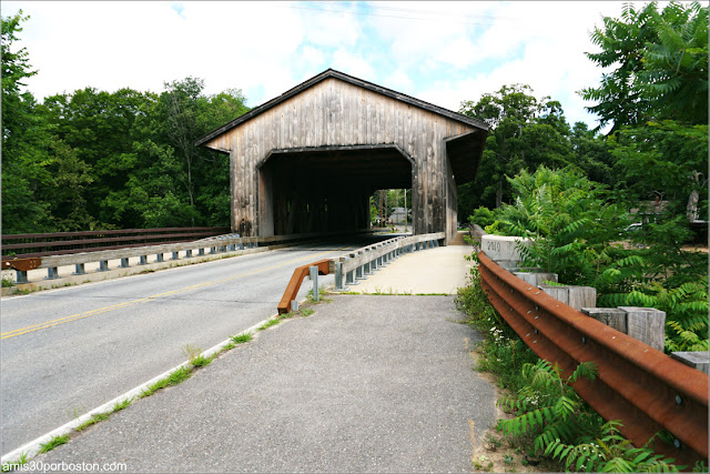 Pepperell Covered Bridge en Massachusetts