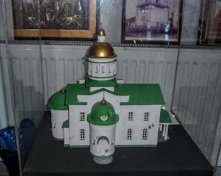 Полтава. Свято-Миколаївська церква. Макет реконструкції храму