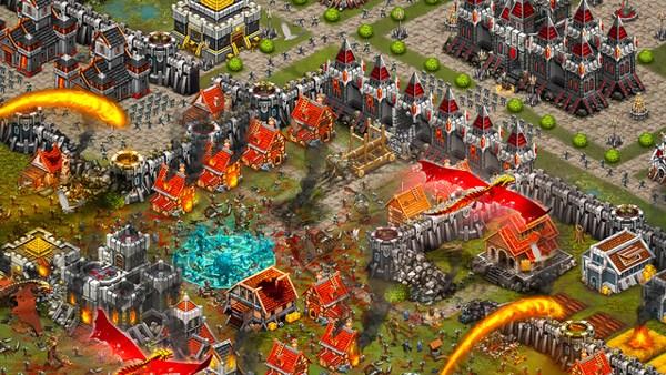 العاب اندرويد  Download Throne Rush ios