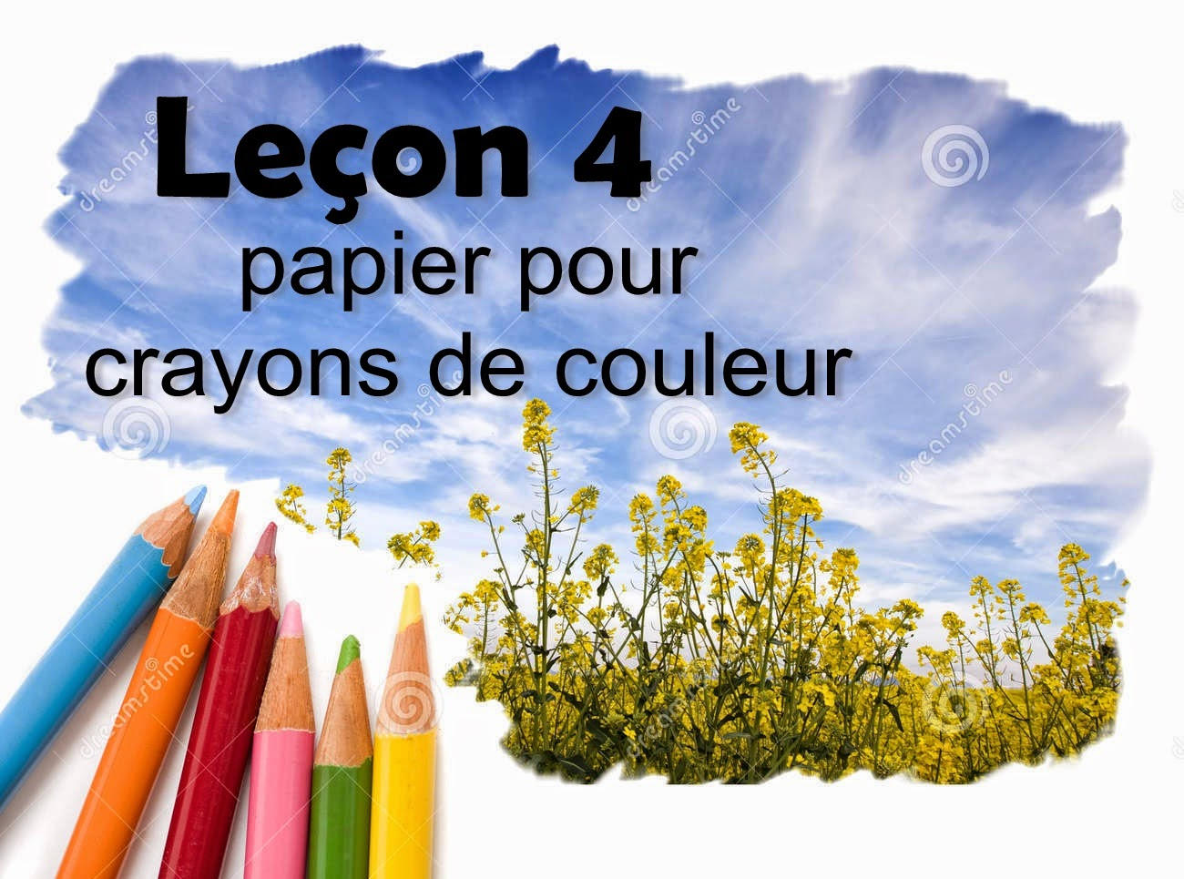 Tuto Dessin Dessin Aux Crayons De Couleur Tuto Dessin Lecon 4
