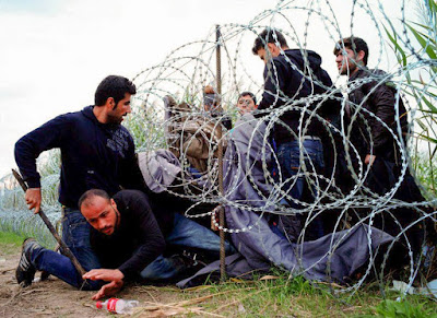 Greece border